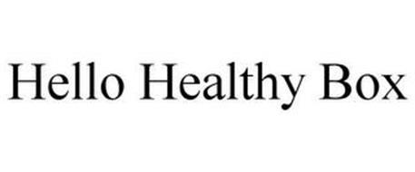 HELLO HEALTHY BOX