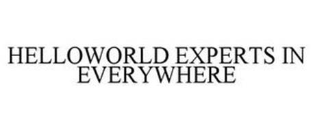 HELLOWORLD EXPERTS IN EVERYWHERE