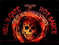 WELCOME TO HELL'S GATE HOT SAUCE GHOST PEPPER