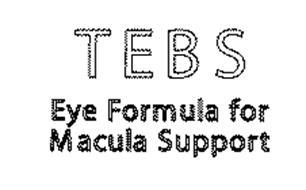 TEBS EYE FORMULA FOR MACULA SUPPORT