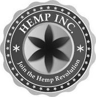 HEMP INC. JOIN THE HEMP REVOLUTION