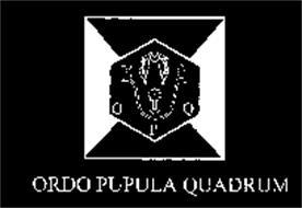 O P Q  ORDO PUPULA QUADRUM