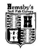 H H HEMSBY'S SOFT PAK GAMES
