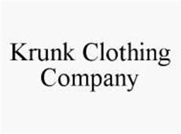 KRUNK CLOTHING COMPANY