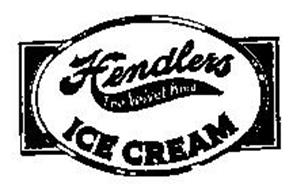 HENDLERS THE VELVET KIND ICE CREAM