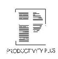 P PRODUCTIVITY PLUS