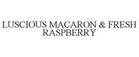 LUSCIOUS MACARON & FRESH RASPBERRY