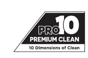 PRO10 PREMIUM CLEAN 10 DIMENSIONS OF CLEAN