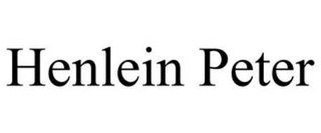 HENLEIN PETER