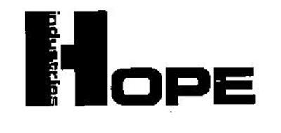 HOPE INDUSTRIES