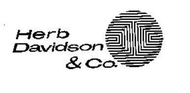 HERB DAVIDSON & CO.