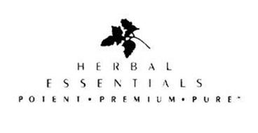 HERBAL ESSENTIALS POTENT · PREMIUM · PURE