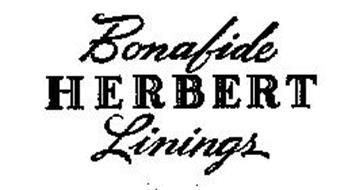 BONAFIDE HERBERT LININGS