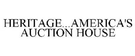 HERITAGE...AMERICA'S AUCTION HOUSE