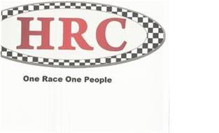 HRC ONE RACE ONE PEOPLE
