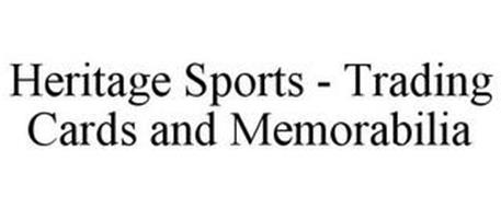 HERITAGE SPORTS - TRADING CARDS AND MEMORABILIA