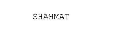 SHAHMAT
