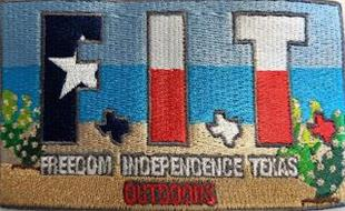 FIT FREEDOM INDEPENDENCE TEXAS OUTDOORS
