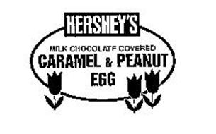 HERSHEY'S MILK CHOCOLATE COVERED CARAMEL & PEANUT EGG