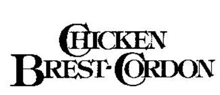 CHICKEN BREST-CORDON