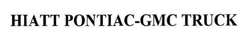 HIATT PONTIAC-GMC TRUCK