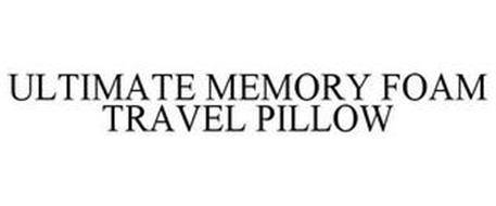 ULTIMATE MEMORY FOAM TRAVEL PILLOW