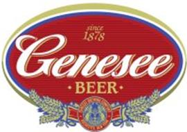 SINCE 1878 GENESEE · BEER · GENESEE BREWING COMPANY ROCHESTER, NEW YORK