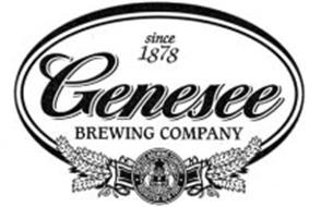 SINCE 1878 GENESEE BREWING COMPANY GENESEE BREWING COMPANY ROCHESTER NEW YORK