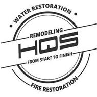 WATER RESTORATION REMODELING HQS FROM START TO FINISH FIRE RESTORATION