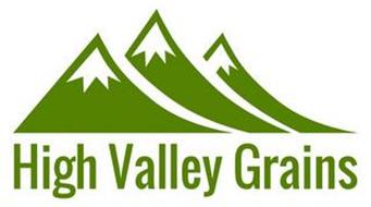 HIGH VALLEY GRAINS