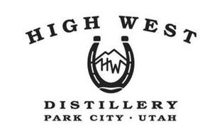 HIGH WEST HW DISTILLERY PARK CITY · UTAH