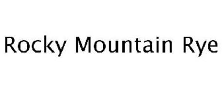 ROCKY MOUNTAIN RYE