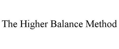 THE HIGHER BALANCE METHOD
