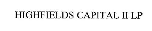 HIGHFIELDS CAPITAL II LP