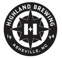 HIGHLAND BREWING 1994 ASHEVILLE, NC H