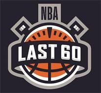 NBA LAST 60