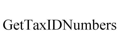 GETTAXIDNUMBERS