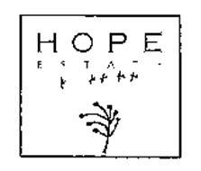 HOPE ESTATE