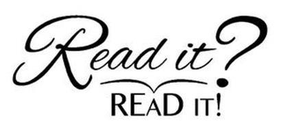 READ IT? READ IT!