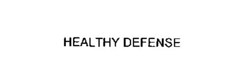 HEALTHY DEFENSE