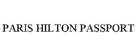 PARIS HILTON PASSPORT
