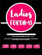 """LADIES FORUMS """"FIND A MILLION REASONS TO LOVE!"""" -LADONNA J HITE MAKE A WAY FOR GOOD THINGS THAT ARE ENTERTAINMENT...ENTERTAINING! EVERYWHERE THAT LOVE IS ACCEPTED! WAITING ROOM A WAITING ROOM B WAITING ROOM C WAITING ROOM D WAITING ROOM E"""