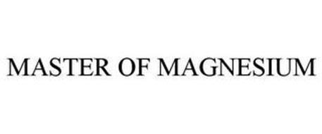 MASTER OF MAGNESIUM