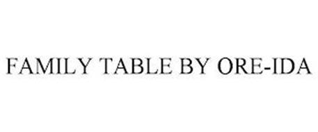FAMILY TABLE BY ORE-IDA