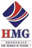 HMG BROKERAGE THE WORLD IS YOURS..!