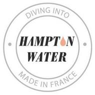 DIVING INTO HAMPTON WATER MADE IN FRANCE