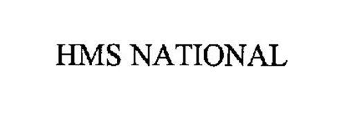 HMS NATIONAL