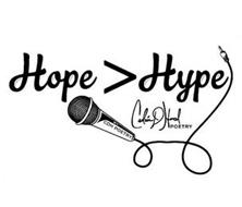 HOPE > HYPE CDH POETRY CEDRIC D HOARD POETRY