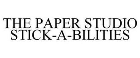 THE PAPER STUDIO STICK-A-BILITIES
