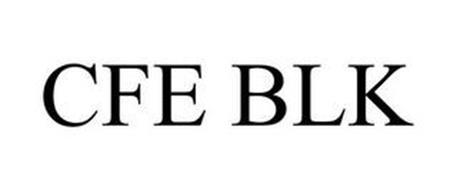 CFE BLK Trademark of Hodgdon Powder Company, Inc.. Serial ...